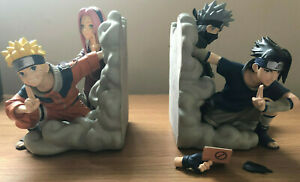 Naruto Team 7 Bookends Resin Statue Number 499 Of 2000