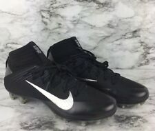 Nike Vapor Untouchable 2 Football Cleats Black Silver White Gray Size 10.5