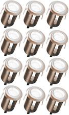 12  x LED  Bodeneinbaustrahler Bodenlampe Terrassenbeleuchtung Einbauleuchten