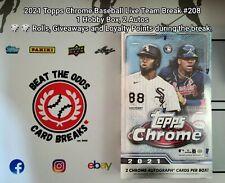 New listing HOUSTON ASTROS 2021 Topps Chrome Baseball LIVE TEAM BREAK #208