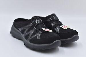 Women's Skechers Easy Goin - Repute Slip On Mule Loafers, Black, 7.5M