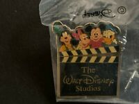 1987 Walt Disney Studios Movie Clapboard FAB 4 Retired Disney Pin 1489