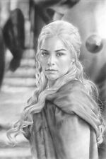 "Game Of Thrones Daenerys 8x12"" Stretched Canvas Art Print Quality"
