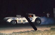 """Dave Strickler """"Old Reliable"""" 1967 Corvette NITRO Funny Car PHOTO!"""