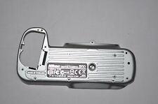Genuine Nikon D50 Base Plate / Bottom Cover - Repair part - Digital SLR - SILVER