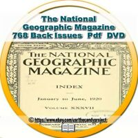 National Geographic 768 Volumes Magazines science geography history Culture DVD