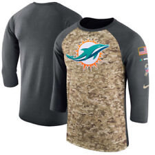 Nike Miami Dolphins 2017 Dri Fit Salute to Service Mens Shirt Size M