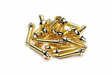80x Gold Split Rim Bolts M7 x 32mm BBS RS OZ Wheels 10.9 High Tensile Steel