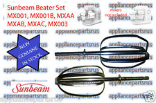 Sunbeam MX001 Beater Set MX001B MXAA MXAB MXAC MX003 - Part MX001101B - IN STOCK