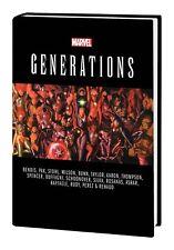 GENERATIONS HARDCOVER Marvel Comics Spider-man, Hulk, Thor, Jean Grey + More HC