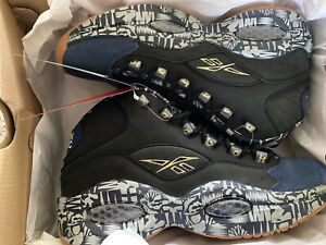 Reebok Question Iverson Classic Mid Georgetown 9