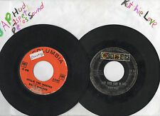 """Lot Of 24 Mostly Country Vinyl 7"""" Grade Good Plays Noise Surface Marks 45's"""