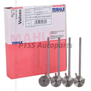 MAHLE OEM Engine Intake & Exhaust Valves Set 6mm For Audi A4 A5 VW Tiguan 2.0T