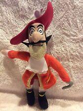 """Disney Peter Pan 10"""" Captain James Hook Plush Stuffed Toy"""