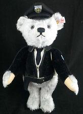 STEIFF Limited Edition Isar Teddy Bear EAN 673825 30cm + Box German policeman BN