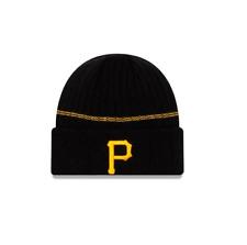 New Era MLB Pittsburgh Pirates Cuff Sport Knit Beanie Fleece Lined Winter Hat