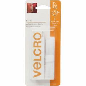 Brand Iron - On Tape 3/4 inch x 24 inch - White - Velcro(r) Brand Fasteners