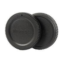 Objektivrückdeckel + Gehäusedeckel passend Panasonic Lumix M4/3 Anschluss