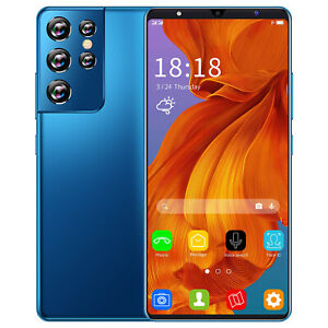 S21 Ultra 24MP+48MP Camera 6GB+128GB 6.1 Inch Full Screen Smart phone