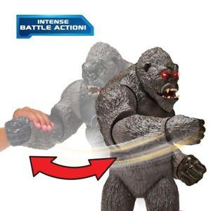 Godzilla Vs Kong Mega Punching Kong Action Figure 13 Inch Lights Sounds Toy Gift