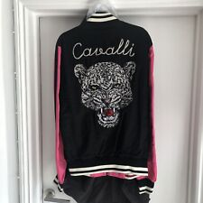 Roberto Cavalli Embroidered Reversible Souvenir Jacket Size UK 36 RRP £1295