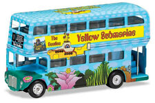 "Corgi ""Yellow Submarine"" The Beatles 1:64 Scale Die-Cast London Bus CC82333"