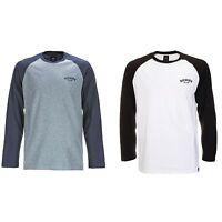 Dickies - Baseball T-Shirt Longsleeve Raglan mehrere Farben