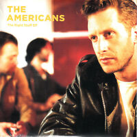 THE AMERICANS The Right Stuff EP 2017 UK 4-trk promo CD sealed
