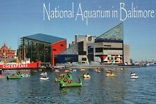 National Aquarium in Baltimore Maryland, Lightship Chesapeake Ship MD - Postcard