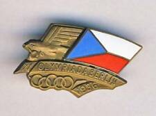 1936 BERLIN Olympics CZECHOSLOVAK NOC pin BADGE Olympic Games CZECHOSLOVAKIA CZ