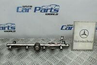 MERCEDES C180 W203 02-08  INJECTOR RAIL 5 MONTH WARRANTY