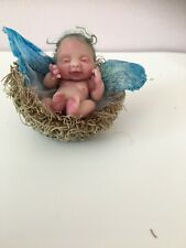 Vic-mar. Baby Fairy In Nest