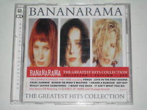 "BANANARAMA-THE GREATEST HITS COLLECTION 2 X CD COLLECTORS EDITION 12"" MIXES 2017"