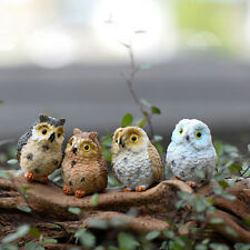 Garden Owl Moss Terrarium Desktop  Craft Bonsai Animal Miniature DIY Random CEP