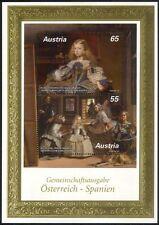 Austria 2009 Velasquez/Artist/Painter/Art/Paintings/Royalty 2v m/s (at1046m)