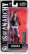 SONS of ANARCHY GEMMA 6-Inch Action Figure With Skateboard - Mezco