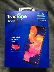 "Lot of 2 New Tracfone Samsung Galaxy A10e 4G LTE 5.8"" 32GB Smart Phone NIB 🔥"