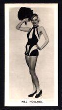 Carreras Film Stars 1937 - Inez Howard No. 2