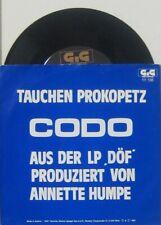 """Tauchen Prokopetz  Codo / rein gar nix , 7"""" 45"""