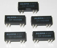 5 X Aleph 5V Coil 0.5 Amp Relay Rated at 200 VDC - Small 5 V PC Mount DIP Relay