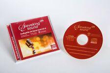 Sieveking Sounds CD 24 Karat Gold CD Rohlinge 5 Stück NEU in Jewel Case