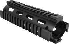 "Machined 2 Piece .223 Carbine Two Piece Quad Rail Drop-In Handguard 6.7"" inch"