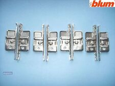4 x pairs of Blum ZSF.170-02.01 Kitchen Drawer Front Fixing Brackets