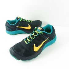 Nike Zoom Wildhorse Trail Running Shoes Women's Size 7 Teal/Neon/Pink/Blue