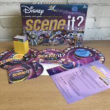 ⭐️ DISNEY Scene It? Family DVD BOARD GAME Mattel (2004) - 100% COMPLETE ⭐️
