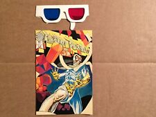 MERLIN REALM 3-D #1  WITH GLASSES  BLACKTHORNE  1986  NICE!!!