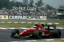 Jean Alesi Ferrari F92A F1 Season 1992 Photograph 2