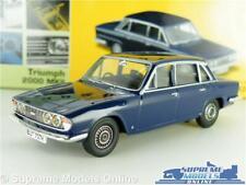 TRIUMPH 2000 MKII MODEL CAR 1:43 SCALE VANGUARDS VA08200 BLUE SALOON MK2 K8