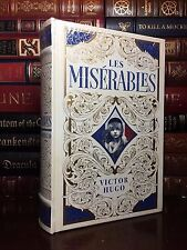 Les Miserables by Victor Hugo Brand New Sealed Leather Bound Collectible Classic