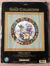 "Dimensions The Gold Collection cross stitch kit ""Sweet nectar"" #35011, 1999 RARE"
